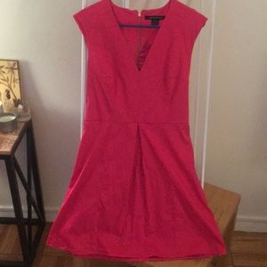 French Connection Fuschia Cocktail Dress